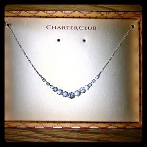 Charter Club Crystal Necklace